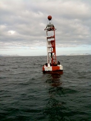 Large Navigation Buoy 12 miles to GG bridge